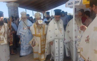 Εγκαίνια Ναού του Αγίου Παϊσίου στην Ι. Μ. Μάνης