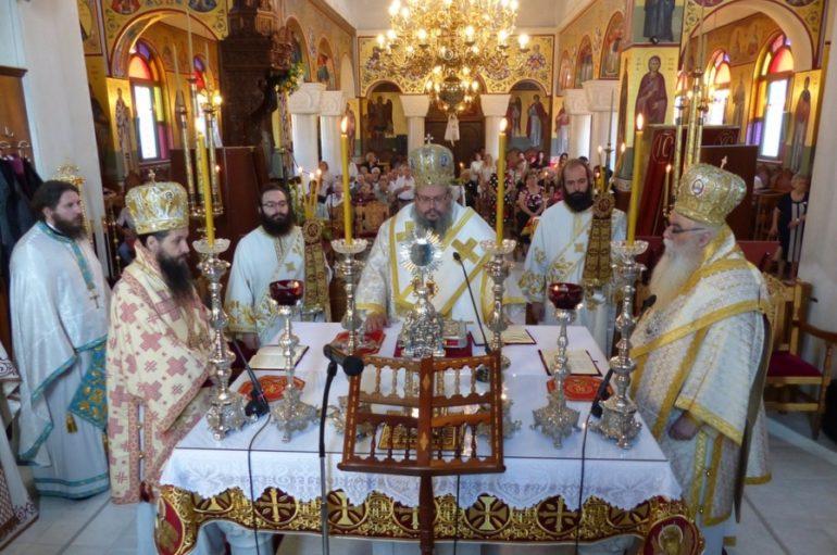 Ο εορτασμός του Αγίου Νικάνορος στην Ι. Μητρόπολη Καστορίας