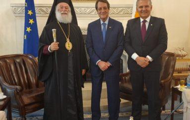 Στον Πρόεδρο της Κυπριακής Δημοκρατίας ο Πατριάρχης Αλεξανδρείας