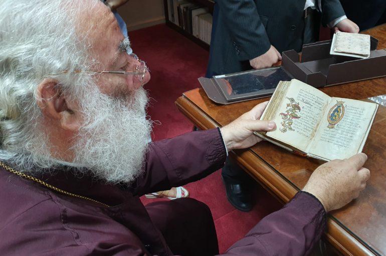Άψογη διεξαγωγή συντήρησης χειρογράφων του Πατριαρχείου Αλεξανδρείας