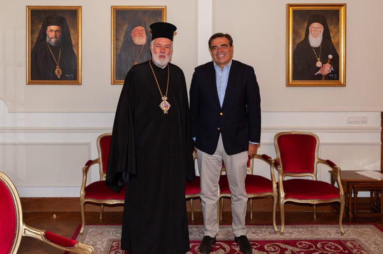 Ο προτεινόμενος Έλληνας Επίτροπος στον Μητροπολίτη Βελγίου