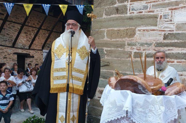 Λαμπρή η πανήγυρις του Αγίου Λαυρεντίου στο Πήλιο