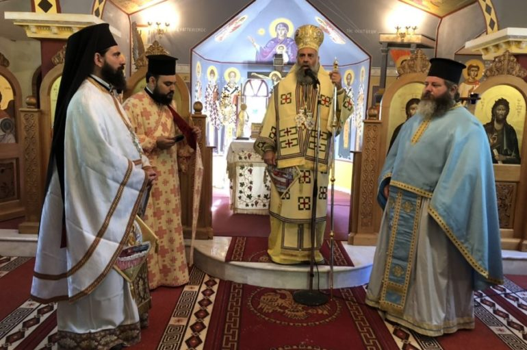 Εορτασμός του Νεομ. Κωνσταντίνου του εκ Καππούας στην Ι. Μ. Θεσσαλιώτιδος