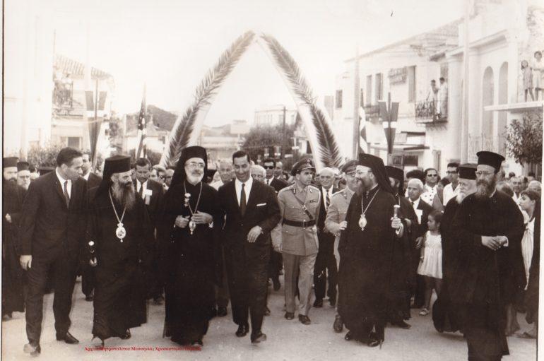Ο Αρχιεπίσκοπος Αμερικής στην Καλαμάτα