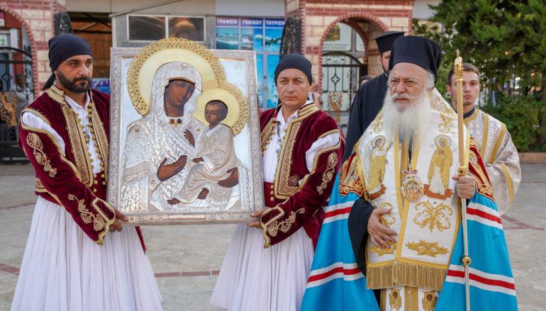 Την Εικόνα της «Παναγίας του Όρους των Ελαιών» υποδέχθηκε η Αλεξάνδρεια