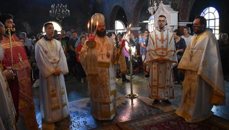 Πανηγύρισε η Ιερά Μονή Παναγίας Φανερωμένης Βαθυρρύακος