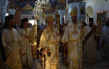 Την Πολιούχο της Παναγία Φανερωμένη εόρτασε η Νέα Ηρακλείτσα