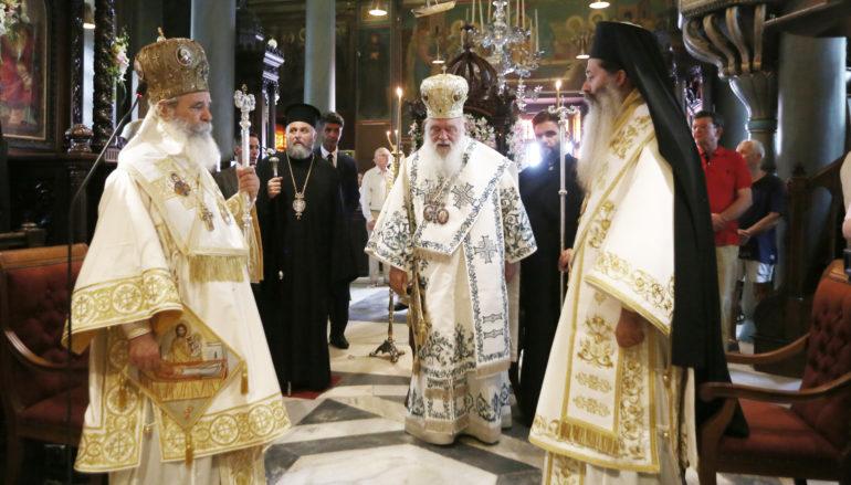 """Αρχιεπίσκοπος: """"Αυτός ο τόπος πήγε μπροστά όταν ήταν ενωμένος"""""""