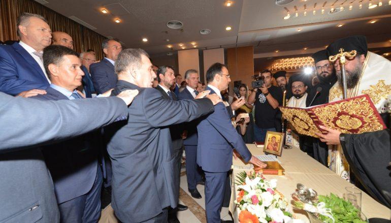 Ο Μητροπολίτης Σερρών όρκισε τη νέα Δημοτική Αρχή Σερρών