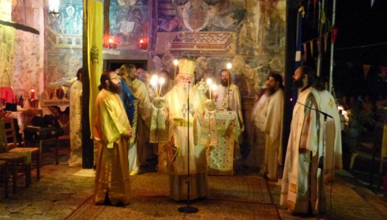 Πανηγυρική Αγρυπνία στην ιστορική Μονή Μαυριωτίσσης Καστοριάς