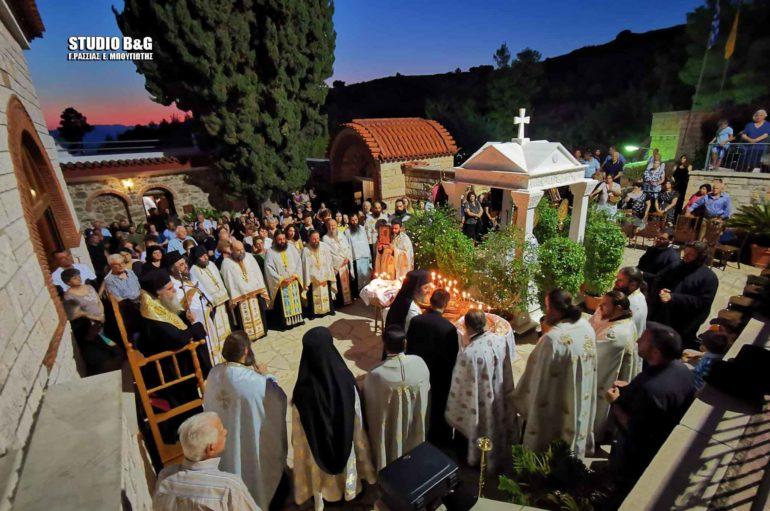 Ο Μητροπολίτης Άρτης στον εορτασμό του Αγίου Θεοδοσίου στην Αργολίδα