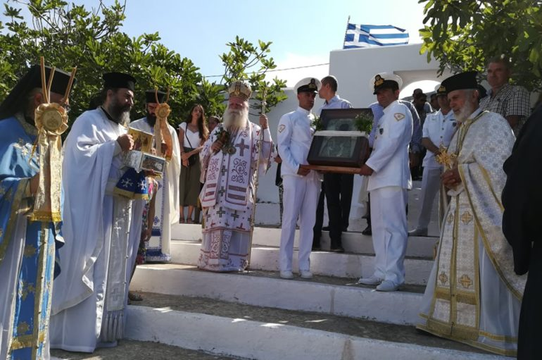 Ο εορτασμός του Αγίου Μύρωνος στα Αντικύθηρα