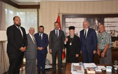 Επίσκεψη του Οικ. Πατριάρχου στον νέο Δήμαρχο Σηλυβρίας
