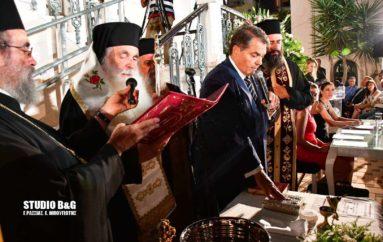 Ο Μητροπολίτης Αργολίδος όρκισε τον Δήμαρχο Άργους