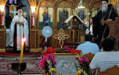 Παράκληση προς την Θεοτόκο στον Άγιο Δημήτριο Πέτα Άρτης