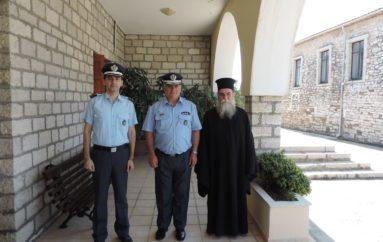 Στον Μητροπολίτη Άρτης ο νέος Αστυνομικός Δ/ντης Άρτας