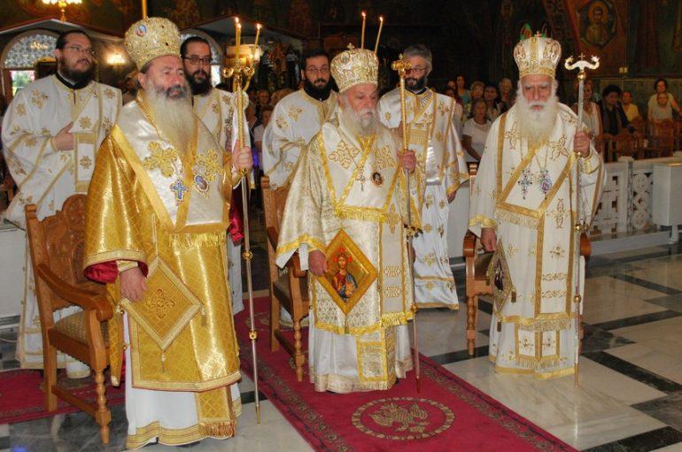 Το Παλαιό Φάληρο εόρτασε τον Άγιο Αλέξανδρο
