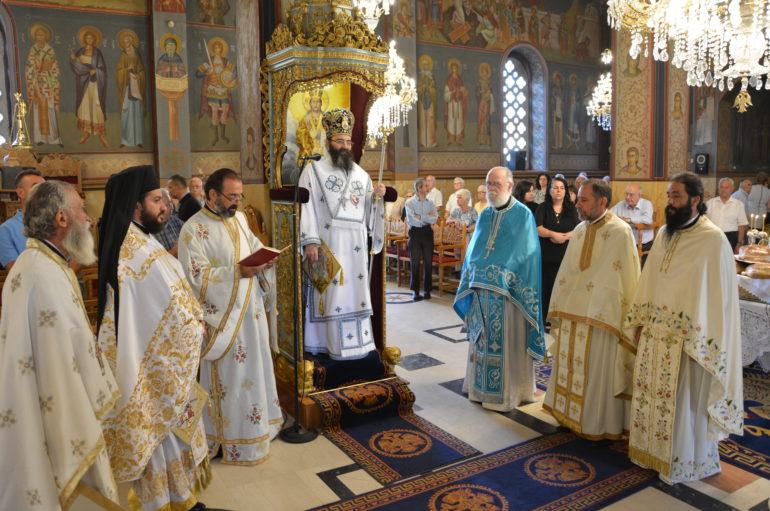 Πανηγύρισε ο Ι. Ναός Μεταμορφώσεως του Σωτήρος Τρίπολης