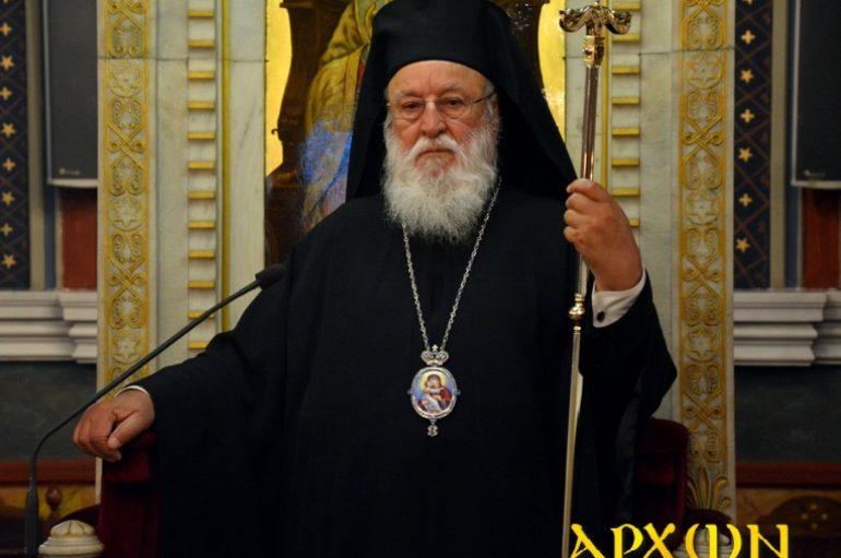 Τα Ονομαστήριά του θα εορτάσει ο Μητροπολίτης Μαντινείας Αλέξανδρος