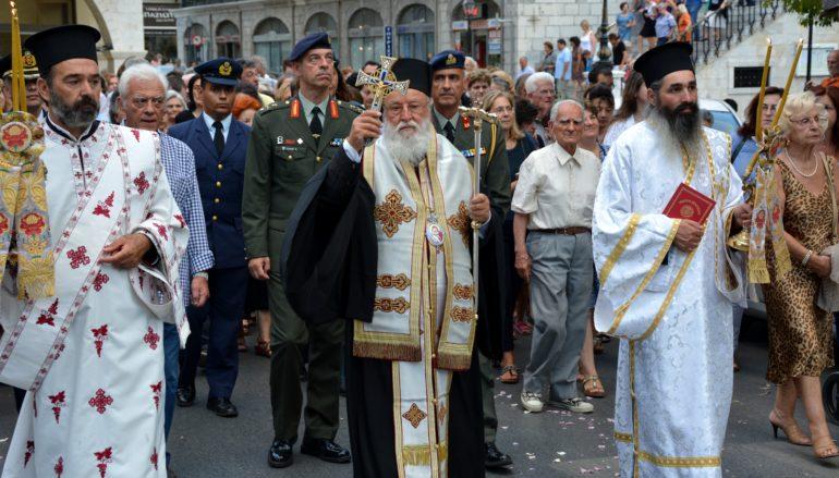 """Την Παναγία """"Τριπολιτσά"""" λιτάνευσαν στην Τρίπολη"""