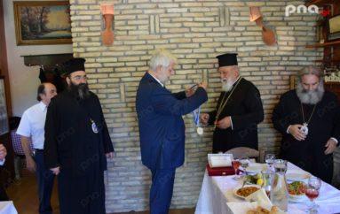 Ο Δήμαρχος Τρίπολης τίμησε τον Μητροπολίτη Μαντινείας