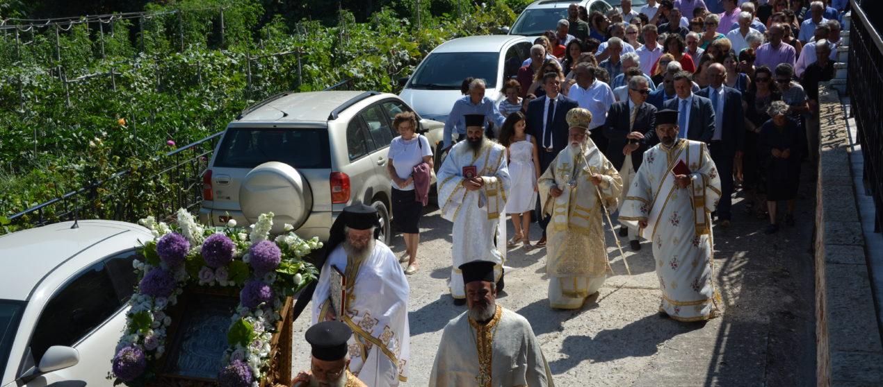 Εκατοντάδες πιστών τίμησαν την Θαυματουργό Παναγία Μαλεβή