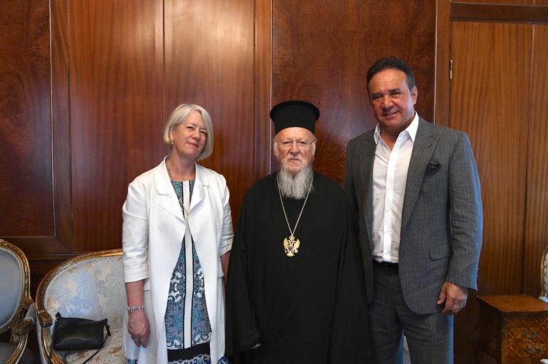 Στον Οικ. Πατριάρχη η Πρέσβης της Νέας Ζηλανδίας στην Άγκυρα