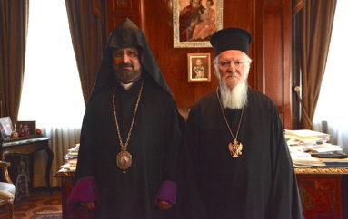 Στον Οικ. Πατριάρχη ο Τοποτηρητής του Αρμενικού Πατριαρχείου στην Πόλη