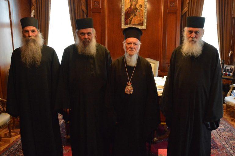 Το Άγιον Όρος θα επισκεφθεί ο Οικ. Πατριάρχης τον Οκτώβριο