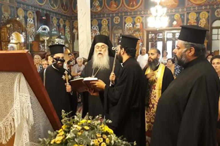 Παράκληση στην Υπεραγία Θεοτόκο από τον Μητροπολίτη Περιστερίου