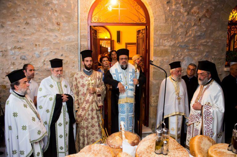 Η εορτή της Μεταμορφώσεως στην Ι. Μητρόπολη Μεσσηνίας