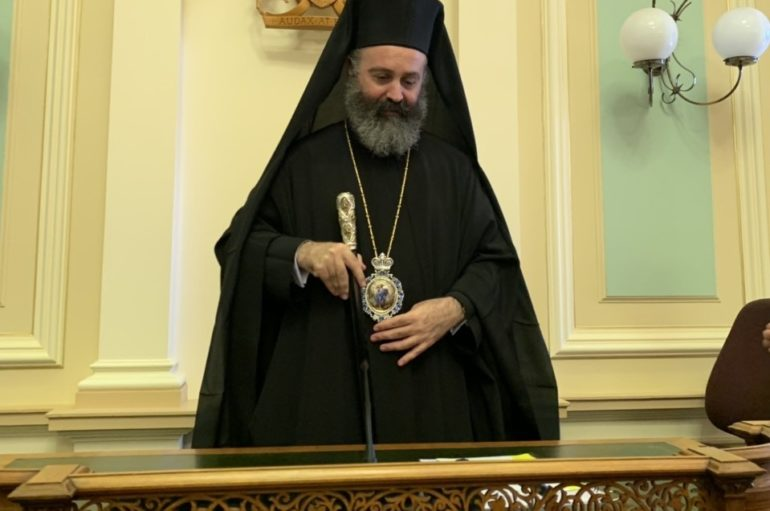 Ο Αρχιεπίσκοπος Αυστραλίας στην Βουλή της Κουινσλάνδης