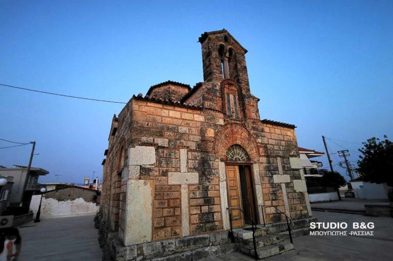 Ο Βυζαντινός Ι. Ναός Κοιμήσεως της Θεοτόκου Χάνικα