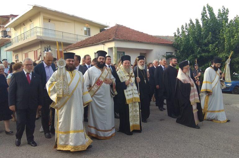 Κορυφώθηκαν οι λατρευτικές εκδηλώσεις στη γενέτειρα του Αγίου Κοσμά του Αιτωλού