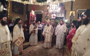 O εορτασμός Κοιμήσεως της Θεοτόκου στην Ι. Μ. Πατρών