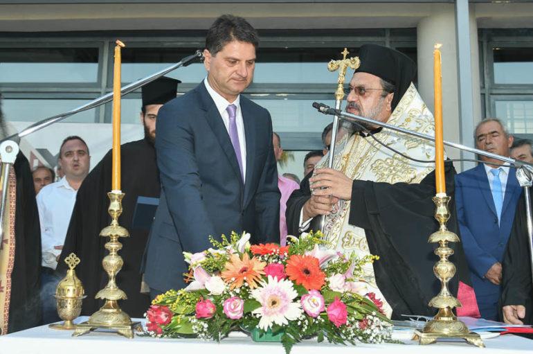 Ο Μητροπολίτης Μεσσηνίας όρκισε τον Δήμαρχο Μεσσήνης