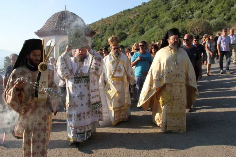 """Μεσσηνίας: """"Η Παναγία να σκέπει το Λαό και την Πατρίδα μας"""""""