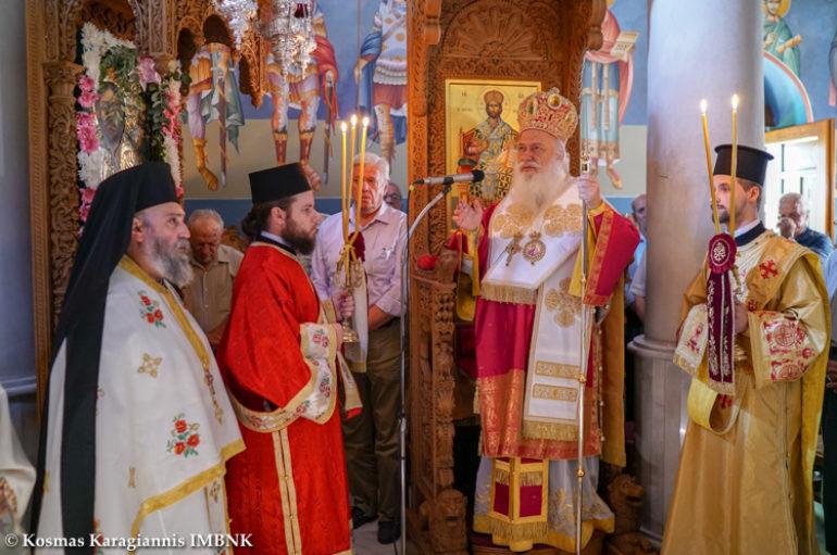 Πανηγύρισε η Ιερά Μονή Τιμίου Προδρόμου Ναούσης
