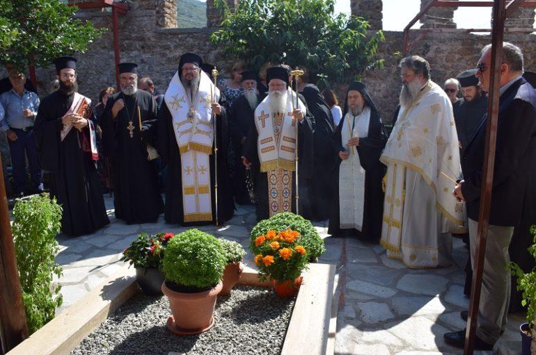 Μνημόσυνο της Καθηγουμένης της Ι. Μ. Αγ. Γεωργίου Μύλων Θεοπίστης