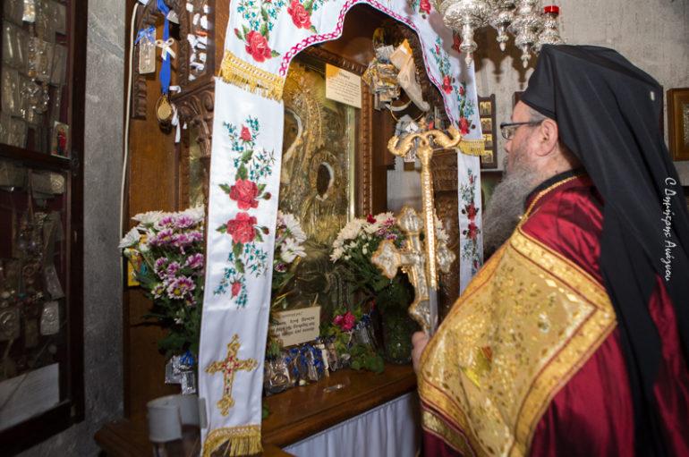 Εόρτασαν την Παναγία Αγαθωνίτισσα στην Ι. Μ. Φθιώτιδος