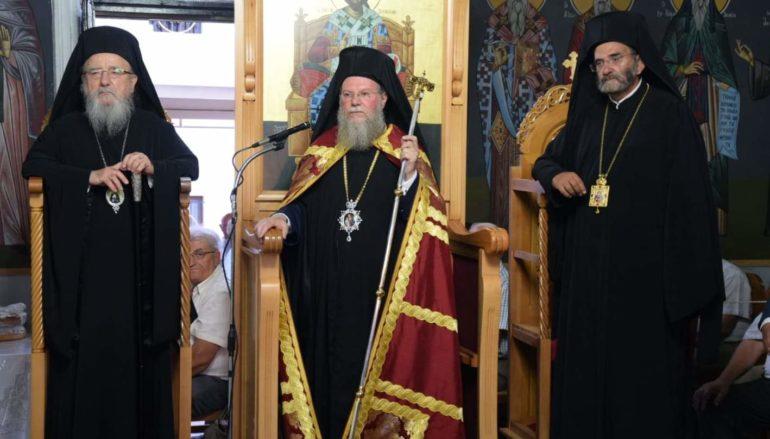 Πολυαρχιερατικός Εσπερινός για τον Άγιο Κοσμά στο Μέγα Δένδρο Αιτωλίας