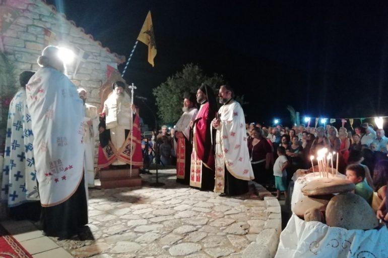 Η εορτή του Αγ. Κοσμά του Αιτωλού σε ύψωμα της Μάνης