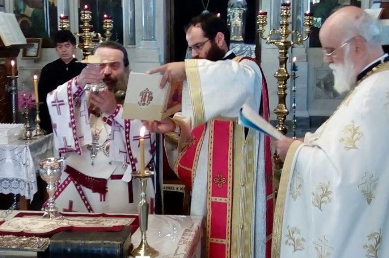 Επέτειος εγκαινίων του Ιερού Ναού Αγίου Μάρκου Βροντάδου
