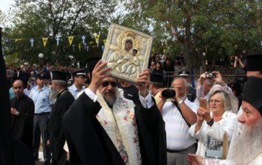 Την Παναγία Βουλκανιώτισσα υποδέχθηκε η Μεσσήνη