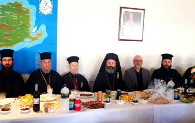 Ο Αρχιεπίσκοπος Αυστραλίας στο σπίτι των Ιμβρίων της Αδελαΐδας