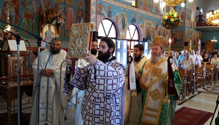 Ο εορτασμός του Αγίου Ευσταθίου στην Πάτρα