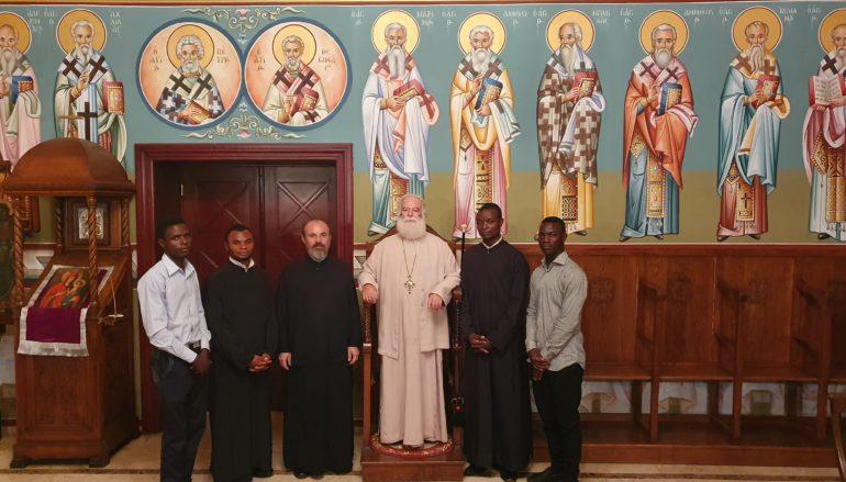 Ο Πατριάρχης Αλεξανδρείας καλωσόρισε νέα παιδιά της Εκκλησίας από την Αφρική