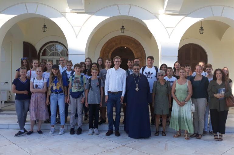 Επίσκεψη Γερμανών μαθητών στον Μητροπολίτη Μεσσηνίας