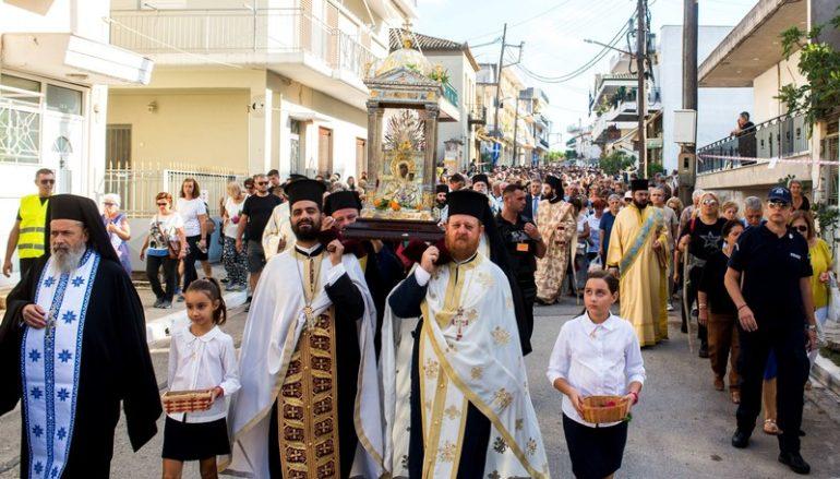 Επιστρέφει η Παναγία Βουλκανιώτισσα στο θρόνο της