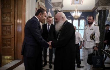 Ο Υπουργός Εθνικής Άμυνας στον Αρχιεπίσκοπο Ιερώνυμο